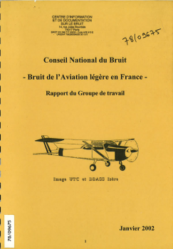 Bruit de l'aviation légère en France