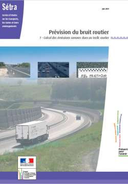 setra prevision bruit routier calcul emissions sonores trafic routier