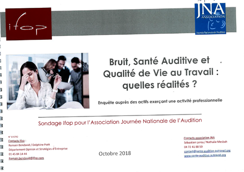 bruit sante auditive et qvt quelles realites