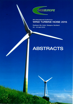 Sixth International Conference on Wind Turbine Noise. Abstracts.